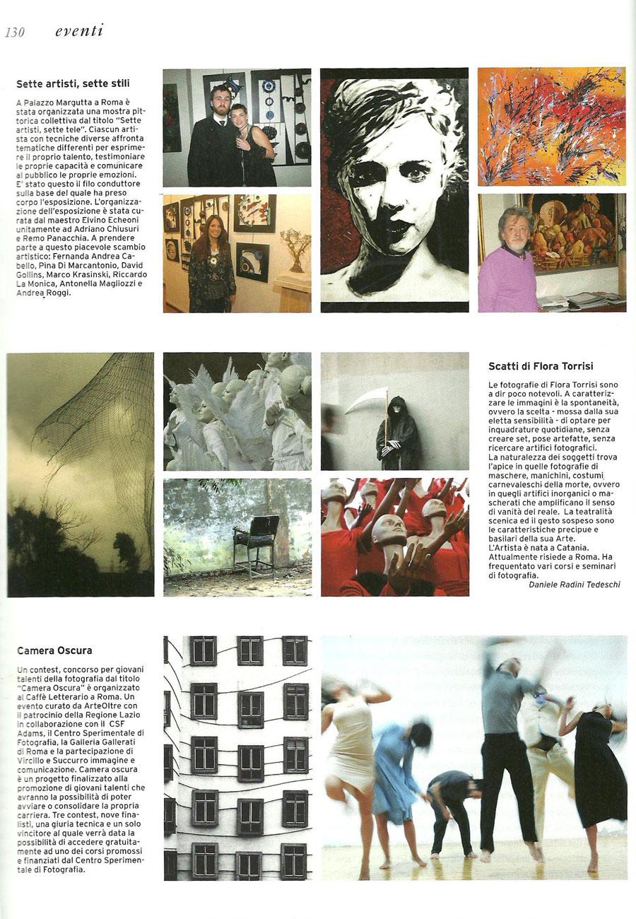 Marzo 2010, Flora Torrisi sulla rivista Fleming