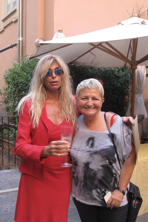 Flora Torrisi con Marina Occhiena