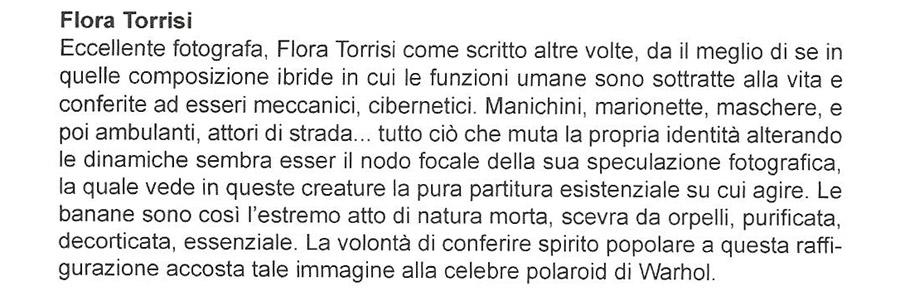 Recensione Flora Torrisi